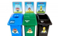 Waste Watcher Kidz Station – Triple Stream
