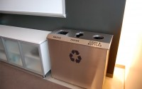 Hendrix R-1 Triple Stream Recycling Bin