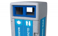 Expression Outdoor PPE Disposal Bin
