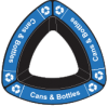 Cans & Bottles - Blue