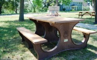 Poly Tuff 6 Foot | Eco-Friendly & Sustainable Picnic Table