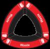 Waste - Red
