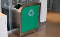Leaf Triple Stream Recycling Bin