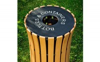 Round Flare Top 33 Gallon Receptacle