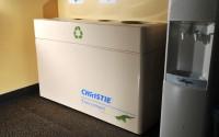 Fiberglass Quad Stream Recycling Bin