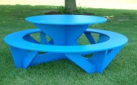Round Activity Picnic Table