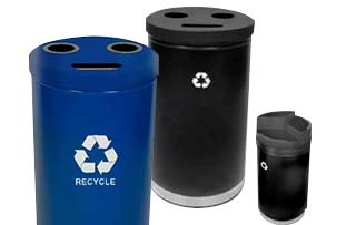 3-in-1 Recycling Stations