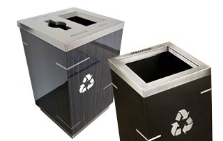 Aurora Recycling Stations