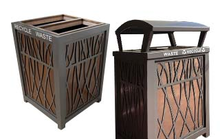 Avenue Recycling Stations
