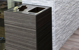 Double Stream Waste & Recycling Bins