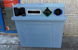 Quad Stream Recycling Stations