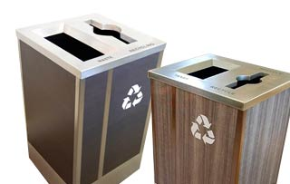 Champs Elysees Recycling Stations