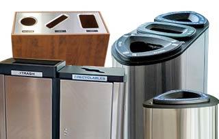 Indoor Trash & Recycle Bins