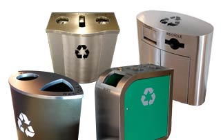 Designer Recycling Stations