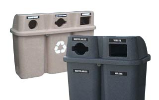 Duo & Trio Recycling Stations