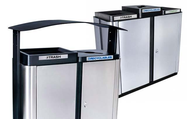 Echelon Recycling Stations