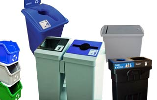 Economical Recycle & Trash Bins