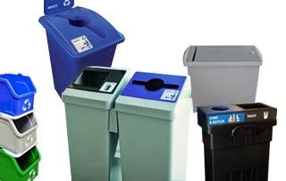 Economical Recycle & Trash Bins