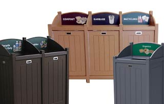 Excel Catch-All Recycling Stations