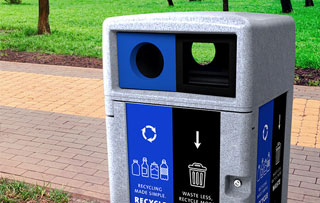 Expression Outdoor Receptacles