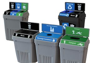 Flex-E Recycling Receptacles