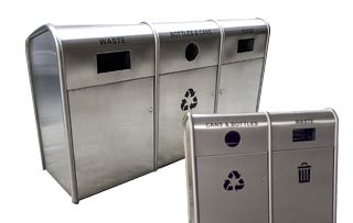 Green Street Recycling Stations