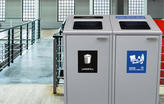 Ikona Recycling Receptacles