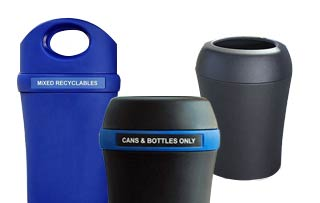 Infinite Trash & Recycling Receptacles