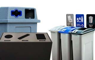 Indoor & Outdoor Recycling Bins