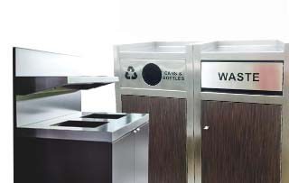 Commercial Trash Bins & Recycling Containers | Waste Wise Products