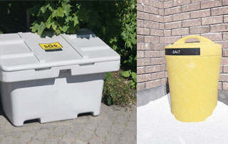 Sand and Salt Storage Bins