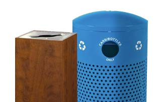 Single Stream Recycling Bins