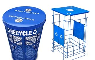 Mesh & Wireframe Receptacles