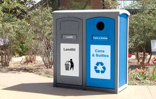 Outdoor Recycling Bins For Parks Amp Theme Parks Waste