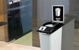 Recycling Bins for Small Spaces Single Stream Recycling Bins & Containers