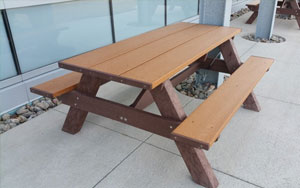 Standard 6 foot  - Eco-Friendly Picnic Table