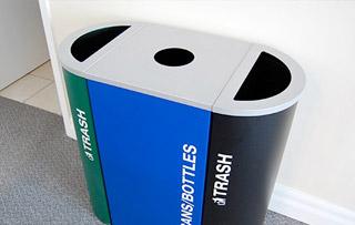 Steel Recycling Bins Amp Containers Indoor Amp Outdoor