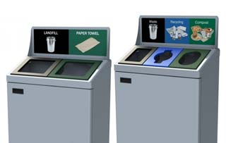 TMF Waste & Recycling Stations