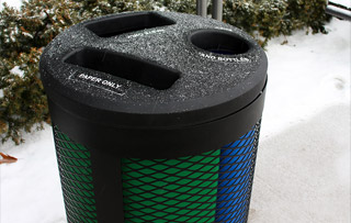 Toronto Series Recycling Receptacles