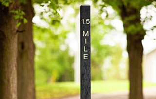 Trail & Mile Markers