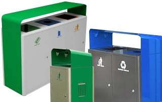 UMEA Recycling Stations