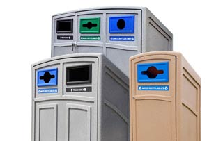 Uptown Recycling Stations