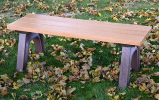 4 Foot - Flat Park Benches