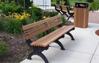 Backed Benches