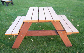 4 Foot Picnic Tables