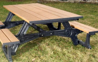 8 Foot Picnic Tables