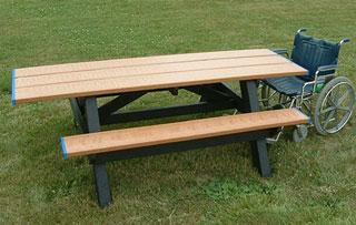 ADA Compliant Picnic Tables