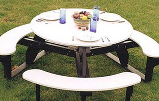 Round Picnic Tables
