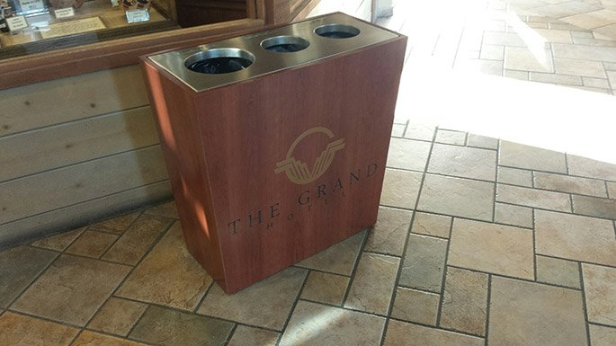 Boxina Triple Stream Recycle Bin Waste Wise Products