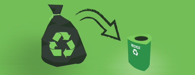 More Recycle Bins are Needed in the Right Areas